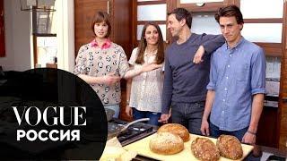 Элеттра Росселлини-Видеманн учит готовить вкусный сэндвич с сыром
