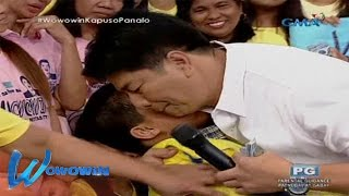 Wowowin: Willie Revillame, Halos Mapaiyak Sa Batang Pipi At Bingi
