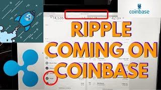 RIPPLE ON COINBASE BETA | XRP COMING TO COINBASE
