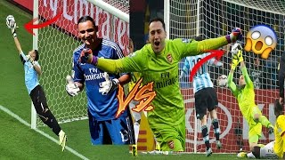 Download Video KEYLOR NAVAS VS OSPINA 2016/17 MP3 3GP MP4