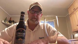 Michelob Amber Bock Dark Lager 5.1 % Abv #1434 The Beer Review Guy