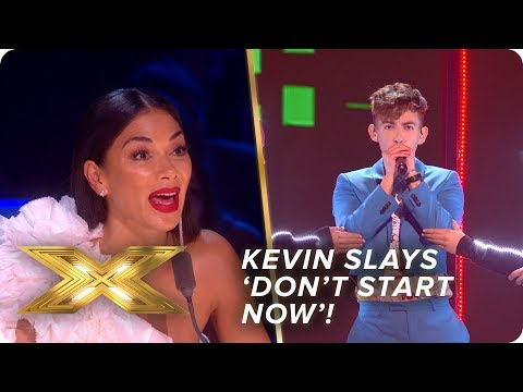 Kevin McHale slays Dua Lipa's 'Don't Start Now' | Live Week 3 | X Factor: Celebrity