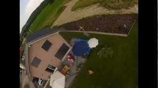 Le Lancer de la GoPro HD2