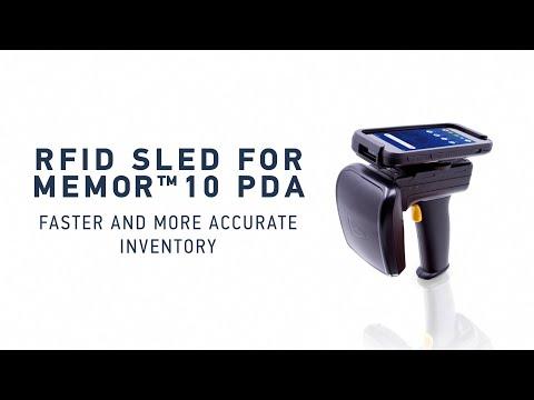 2128P RFID Sled for Memor 10