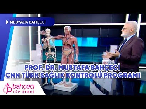 CNN Türk – Prof. Dr. Mustafa Bahçeci – Sağlık Kontrolü Programı