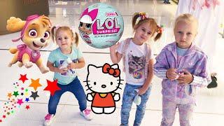 LOL Челлендж Квест Купить новую куклу ЛОЛ Алина Алиса и Юляшка покупают новые ЛОЛ LOL Challenge