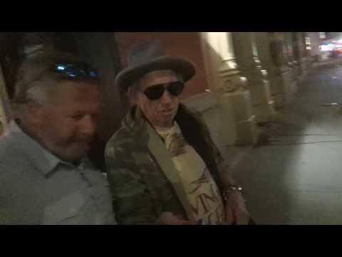 Keith Richards Video