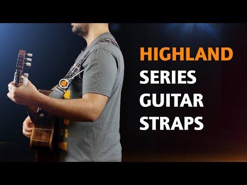 ORTEGA GUITARS | COTTON STRAPS FOR GUITAR (HIGHLAND SERIES)