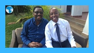 Michael Orengo shows his father how to dance
