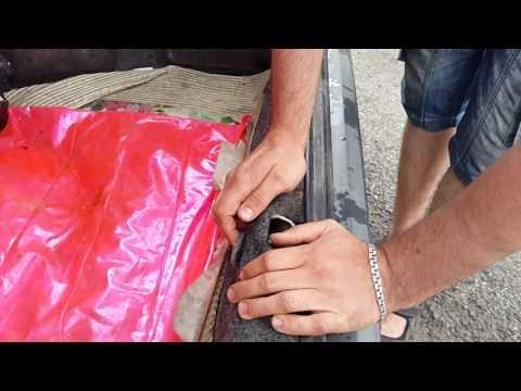регулировка закрытия багажника опель кадет