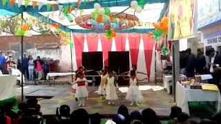 Bum bum bole .. dance by little babies of divine children academy