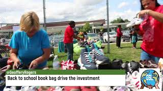 Back to school book bag drive the investment