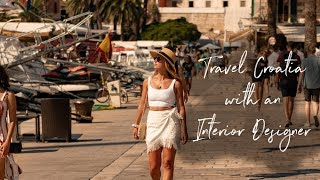 Travel Croatia with an INTERIOR DESIGNER (2018) West of Main