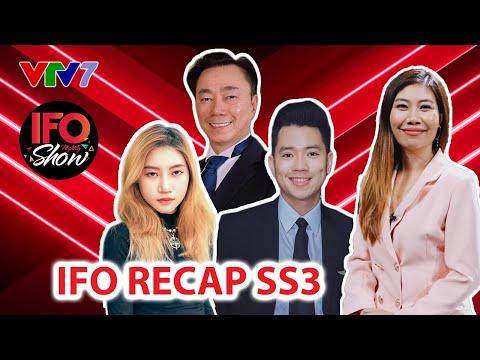 IFO Recap | Cơ trưởng Quang Đạt, Ca sỹ Orange và đại sứ Phạm Sanh Châu