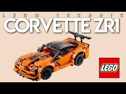Vidéo LEGO Technic 42093 : Chevrolet Corvette ZR1