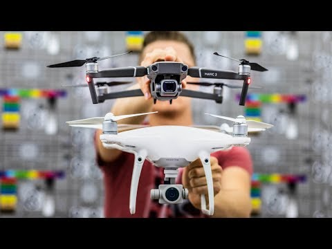 DJI Mavic 2 Pro vs DJI Phantom 4 Pro | Sharpness, Color Accuracy, Line Skipping, Sensor