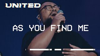 As You Find Me Live Hillsong United