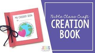 Bible Class Craft - Creation Book
