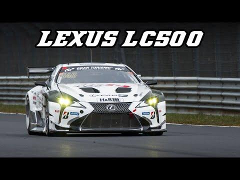 LEXUS LC500 racecar - Nürburgring VLN 2019
