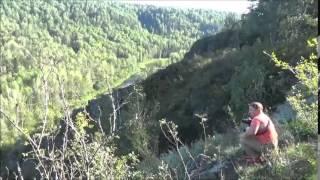 Беловский водопад и Бердские скалы август 2015
