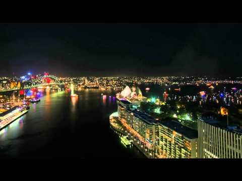 sydney new year time lapse video