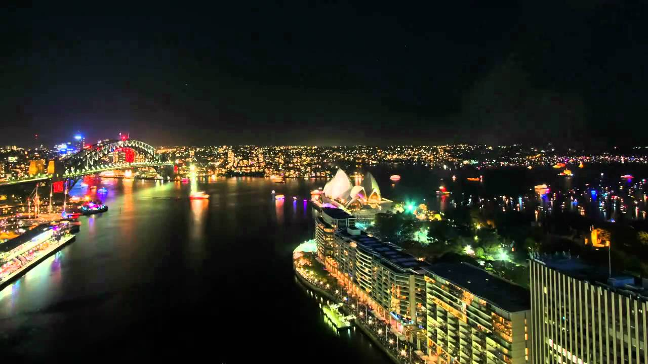 Watch This Time Lapse Video Of Sydney's NYE Fireworks