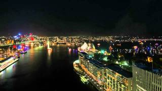 2010 Sydney New Year's Eve Time Lapse