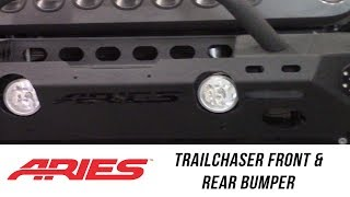 In the Garage™ with Total Truck Centers™: ARIES TrailChaser Front and Rear Jeep Bumpers