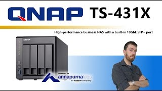 Buy Qnap TS-431X-8G Desktop NAS 4-Bay, RAID 0/1/5/6 (8GB RAM