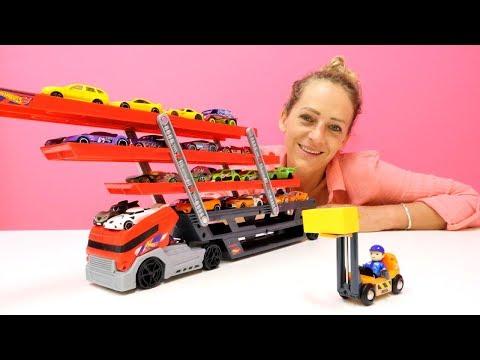 Video für Kleinkinder 👶: #Peppa und Nicole spielen mit #Autos 🚗 Farben lernen für Kinder!