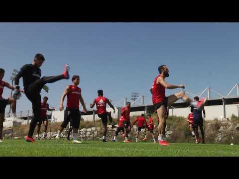 VIDEO. Reprise de l'entraînement pour l'AC Ajaccio