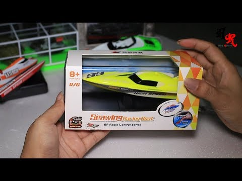 Unboxing RC Sewing Racing Boat 2.4Ghz | Hobby Review