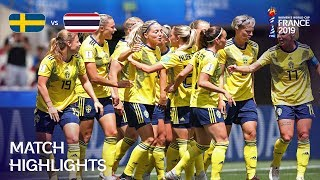 Sweden v Thailand - FIFA Women's World Cup France 2019™