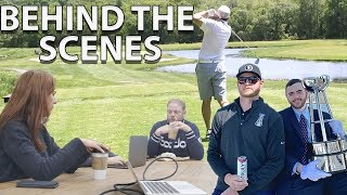 What It Takes To Put On A Golf Tournament - Behind The Scenes Of The Barstool Classic