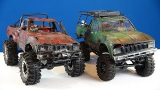 RC ADVENTURES - Trail Finder 2 Toyota Hilux 4x4 RC Trucks (1/10th Scale Off-Road Trail Trucks)