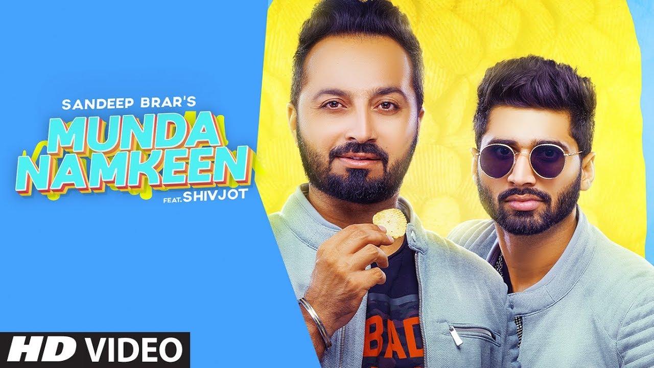 Munda Namkeen Lyrics (Punjabi Song) Sandeep Brar, Shivjot