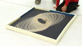 Smilšu svārsta zīmējumi