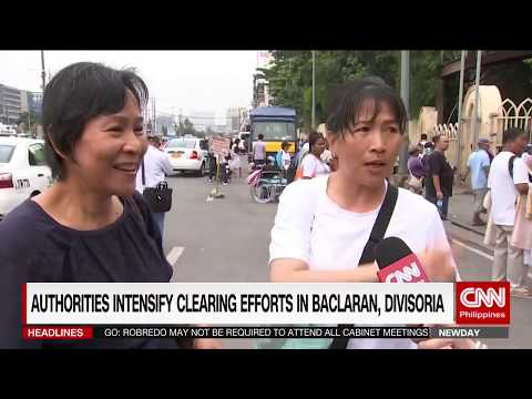 Authorities intensify clearing efforts in Baclaran, Divisoria
