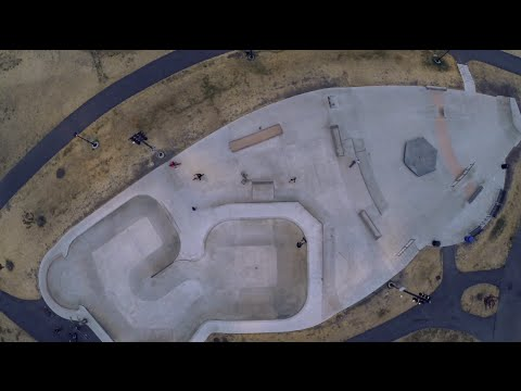 DJI Phantom 2 - Skateboarding at Jefferson Skatepark in Seattle, WA - Day 2 Flight