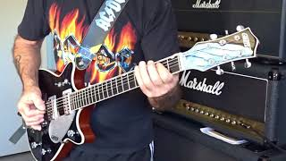 AC/DC Nervous Shakedown Malcolm Young's Part
