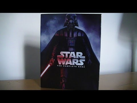 Star Wars: The Complete Saga (2015 Edition) - Blu-Ray Unboxing!