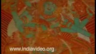 Gajendramoksham- Mural Painting