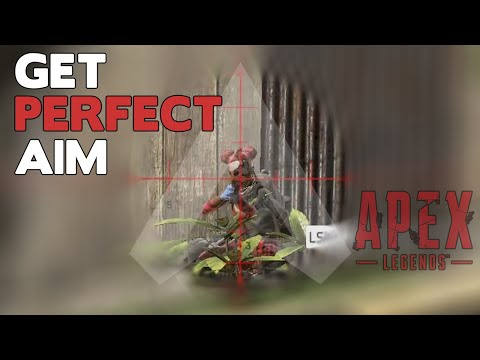 How to get the PERFECT Sensitivity in Apex Legends to Improve Aim