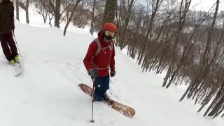 20170319_白馬コルチナ 裏コル滑走