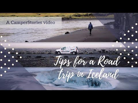 Tips for a Road trip in Iceland - CamperStories