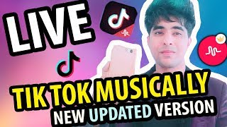 Gambar cover HOW TO GO LIVE ON TIK TOK MUSICAL.LY NEW UPDATED VERSION | TIK TOK LIVE TUTORIAL IN HINDI | #TIKTOK