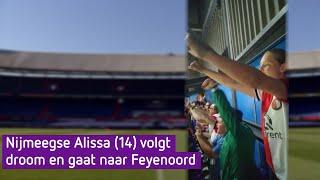 'Echt heel vet', bloedfanatieke Alissa (14) mag voor Feyenoord voetballen