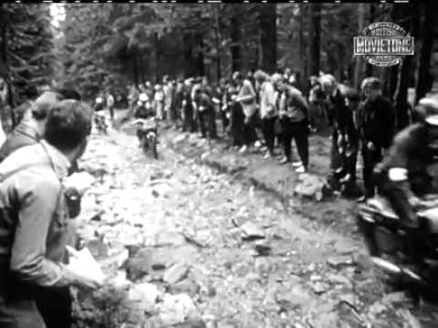 Isdt 1963 Rare Movietone News Newsreel Discovered Speed