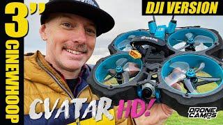"ULTIMATE COMBO! - DJI Eachine Cvatar HD 3"" Cinewhoop - REVIEW & FLIGHTS"
