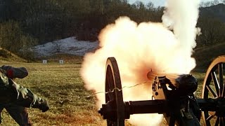 American Civil War - Cannon Fire